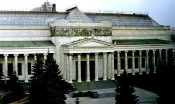 The Pushkin State Museum of Fine Arts in Moscow,