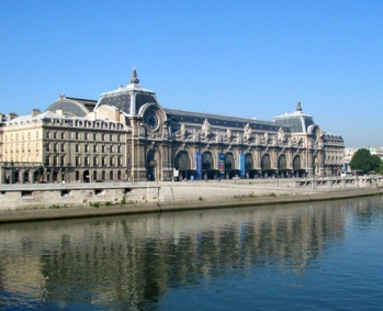 The Musee d'Orsay in Paris, Rue de Lille, 62
