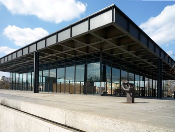 Новая национальная галерея в Берлине / Neue Nationalgalerie в Берлине